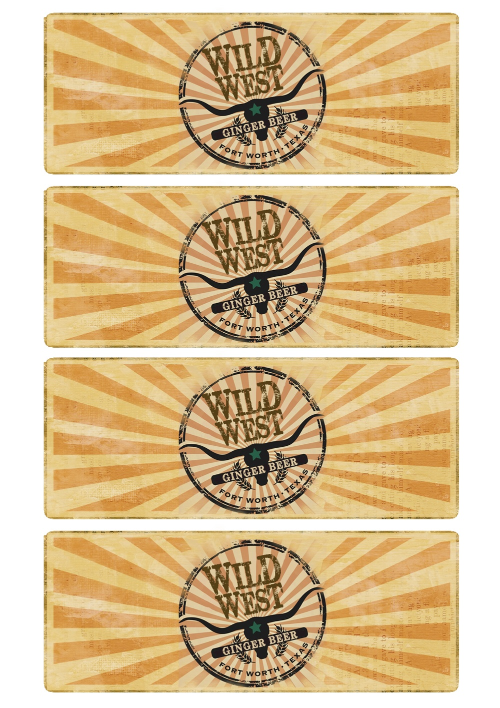 Great Fun Etc: Wild West Party How To's (With Free Printables) - Free Printable Western Labels