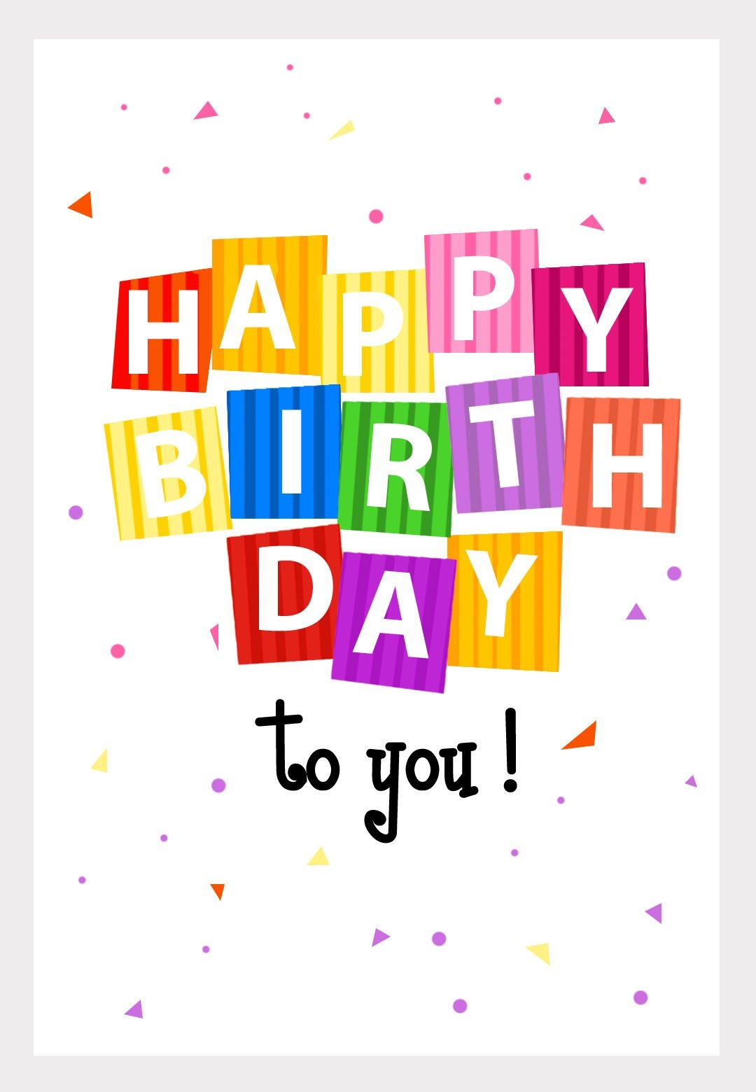 Great Website! No More Buying Greeting Cards. Personalize And Even - Customized Birthday Cards Free Printable