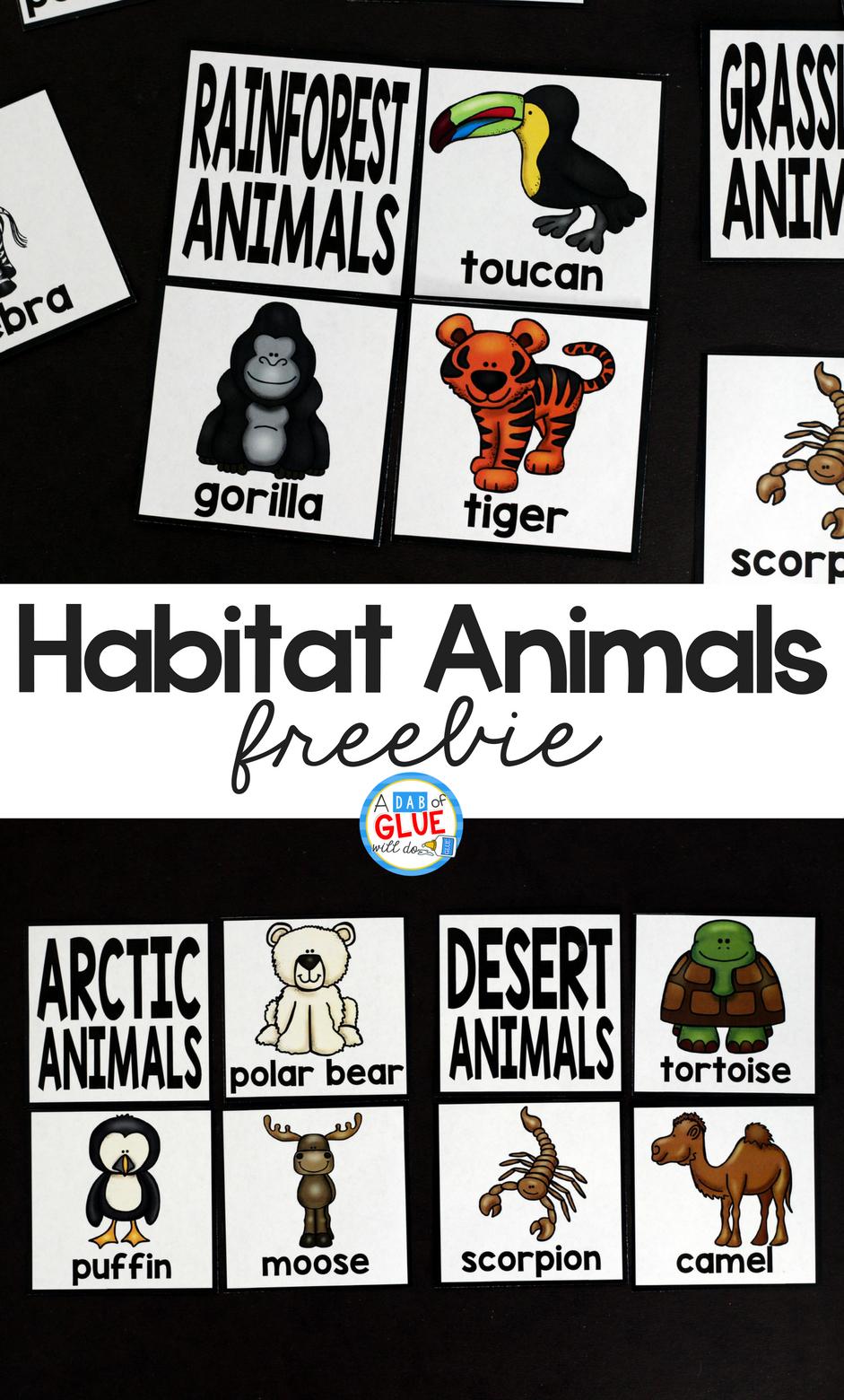 Habitat Puzzles Printable - - Free Printable Animal Puzzles