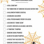 Halloween Games: Printable Scavenger Hunts | **awesome Home   Free Printable Halloween Games For Kids
