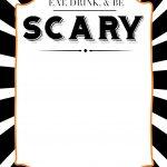 Halloween Invitations Free Printable Template   Paper Trail Design   Free Printable Halloween Invitations