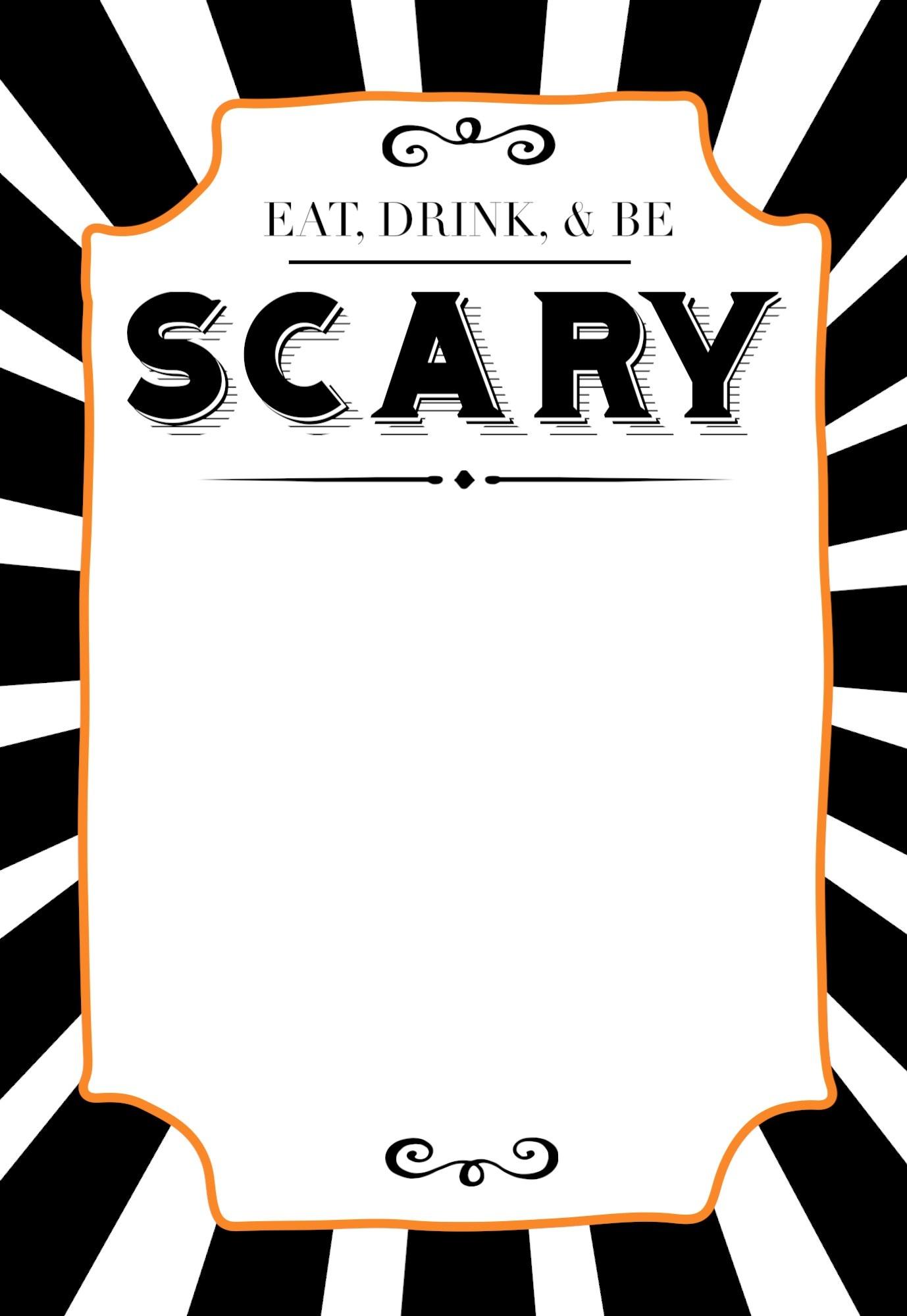 Halloween Invitations Free Printable Template - Paper Trail Design - Free Printable Halloween Party Invitations