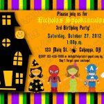 Halloween Kids Birthday Party Invitations | Printable Halloween   Free Online Halloween Invitations Printable