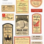 Halloween Love: Spooky Apothecary Labels Free Printable | Halloween   Free Printable Halloween Bottle Labels