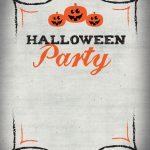 Halloween Party   Free Printable Halloween Invitation Template   Halloween Party Invitation Templates Free Printable