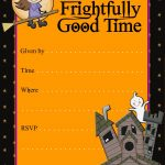 Halloween Party Invitation Templates Free   Tutlin.psstech.co   Free Printable Halloween Invitations For Adults