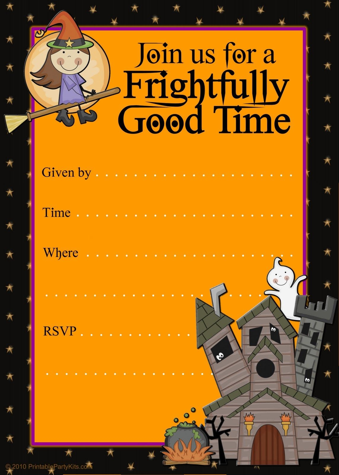 Halloween Party Invitation Templates Free - Tutlin.psstech.co - Free Printable Halloween Invitations For Adults