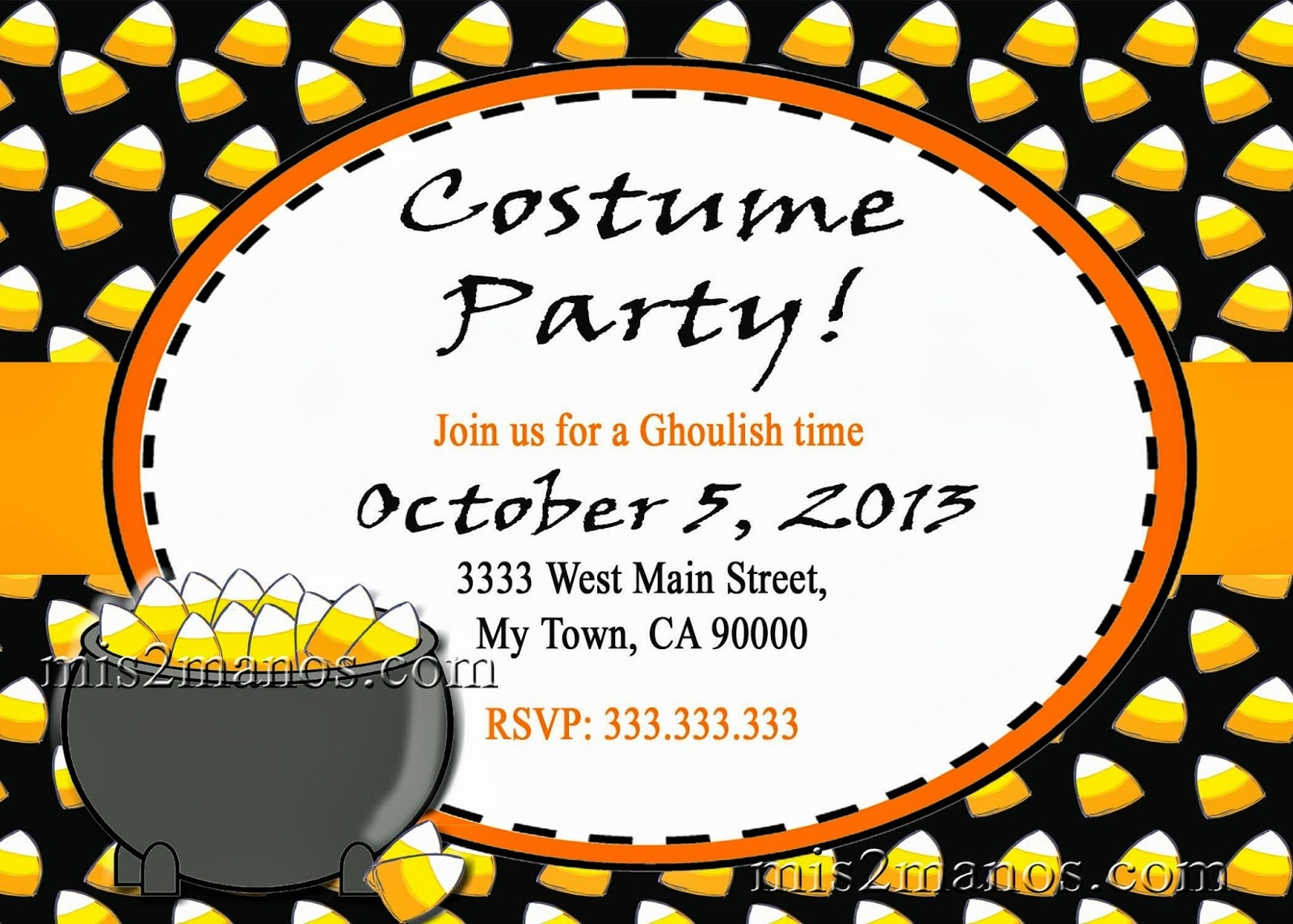 Halloween Party Invitations Templates. Templates Printable For Your - Free Online Halloween Invitations Printable