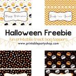 Halloween Treats For Kids  Free Printable | Halloween | Halloween   Free Printable Trick Or Treat Bags