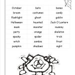 Halloween Worksheets And Printouts   Free Printable Halloween Worksheets