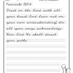 Handwriting Worksheet Alphabet Free Printable   Free Printable Script Writing Worksheets