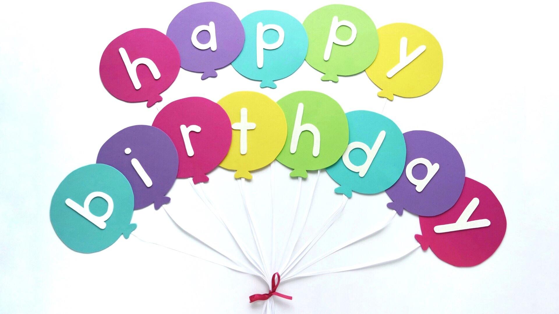 Happy Birthday Banner Diy Template | Balloon Birthday Banner Template - Free Printable Happy Birthday Banner Templates