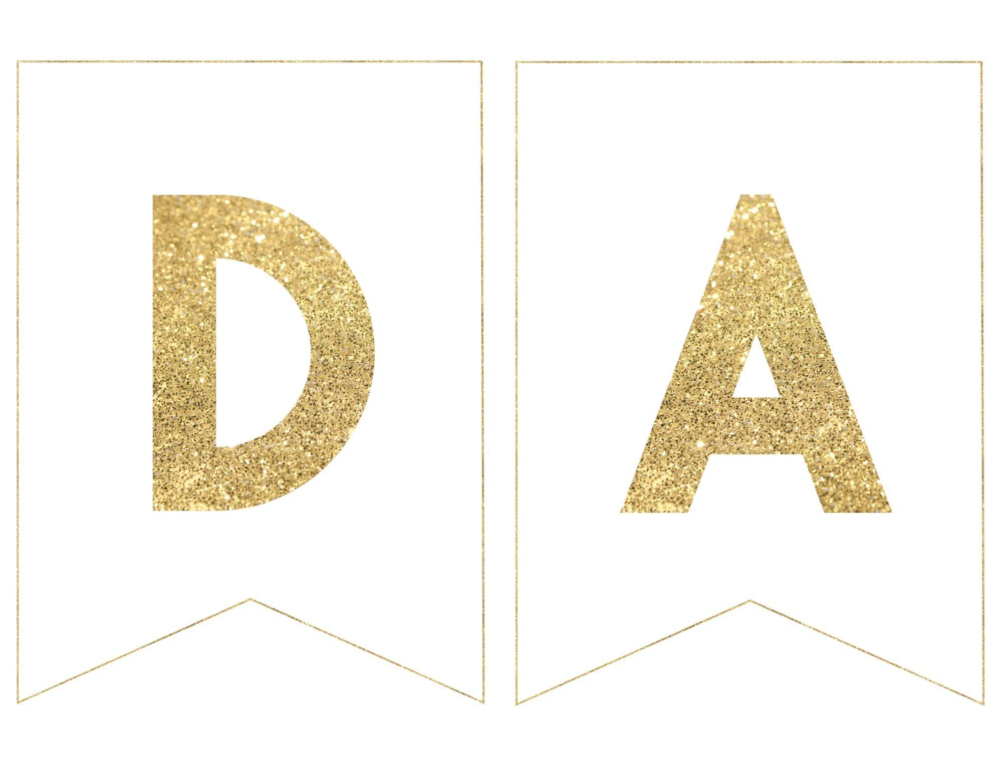 Happy Birthday Banner Printable Template | Fj Party Ideas | Happy - Free Printable Happy Birthday Banner Templates