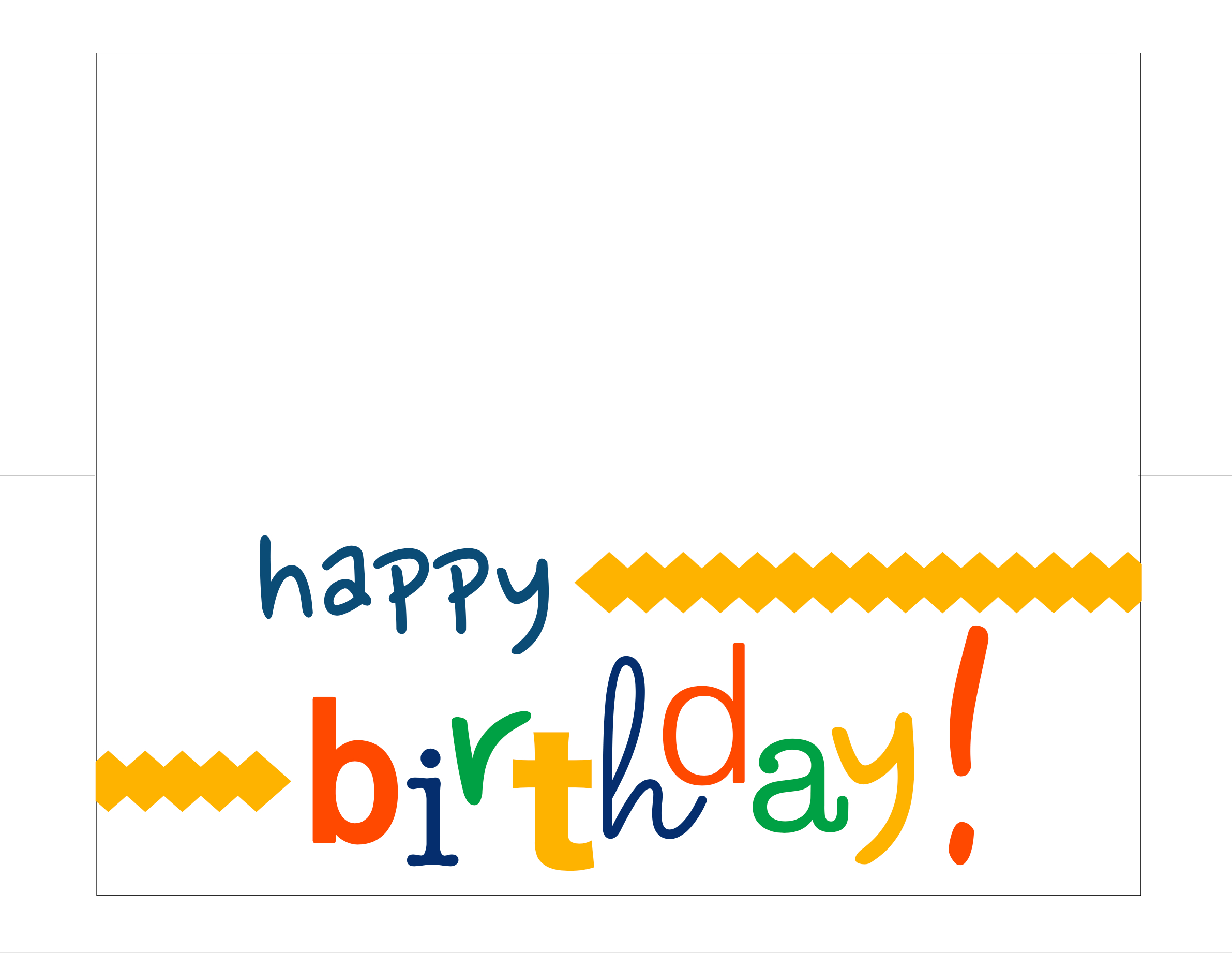 Happy Birthday Card Free Printable - How Do The Jones Do It - Happy Birthday Free Cards Printable
