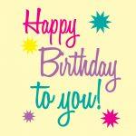 Happy Birthday Printable Art | Free Birthday Graphics Happy Birthday   Happy Birthday Free Printable
