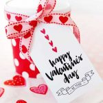 Happy Valentine's Day Gift Tags | Skip To My Lou   Free Printable Valentine Tags
