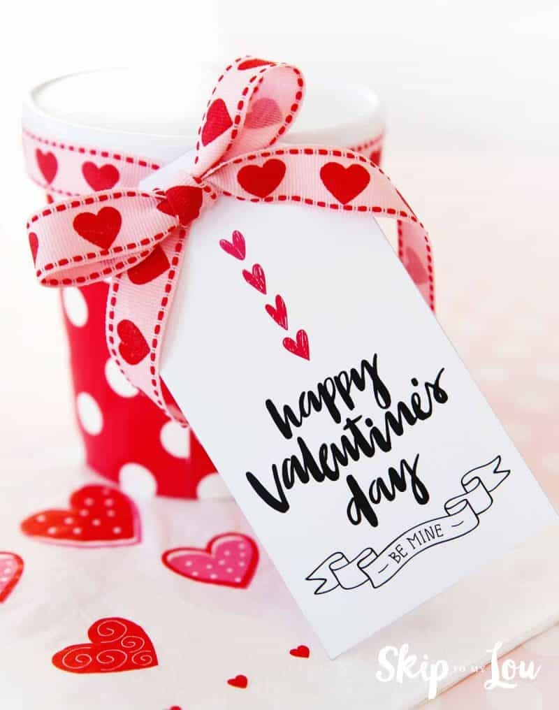 Happy Valentine's Day Gift Tags   Skip To My Lou - Free Printable Valentines Day Tags