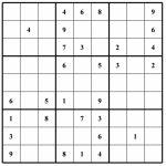 Hard Puzzle | Free Sudoku Puzzles | Printable Sudoku 4 Per Page   Free Printable Suduko