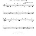 Hark! The Herald Angels Sing, Free Christmas Clarinet Sheet Music Notes   Free Printable Christmas Songs For Clarinet