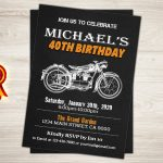 Harley Davidson Birthday Invitations — Birthday Invitation Examples   Free Printable Harley Davidson Birthday Invitations