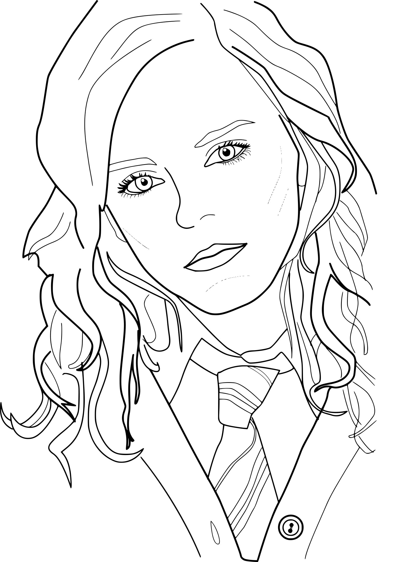 Harry Potter Coloring Page - Coloring Pages For Kids - Free Printable Harry Potter Coloring Pages