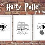 Harry Potter Week   3 Free Printables   This Splendid Shambles   Free Printable Harry Potter Pictures
