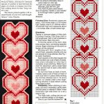 Heart Plastic Canvas Bookmark | Plastic Canvas Crafts | Plastic   Free Printable Plastic Canvas Patterns Bookmarks