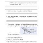 Heat Transfer: Heat Transfer Worksheet   Free Printable Heat Transfer Worksheets