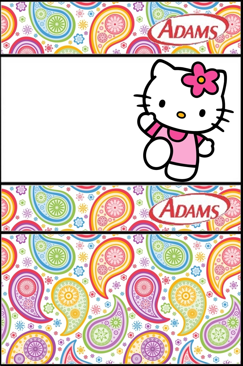 Hello Kitty Party: Free Printable Candy Buffet Labels. - Oh My - Free Printable Candy Table Labels