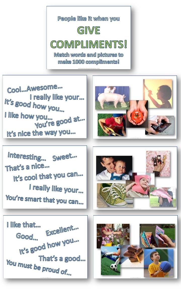 Help Children Learn To Give And Receive Compliments In Accordance - Free Printable Social Skills Stories For Children