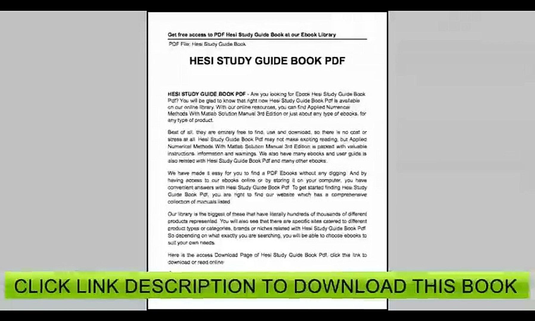 Hesi Study Guide Free - Free Printable Hesi Study Guide | Free - Free Printable Hesi Study Guide