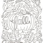 Hi Everyone! Today, I'm Sharing With You My First Free Coloring Page   Free Printable Coloring Pages Fall Season