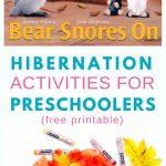 Hibernation Activities For Preschoolers   Fun With Mama   Free Printable Hibernation Worksheets