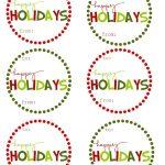 Holiday Tags   Tutlin.psstech.co   Free Printable Editable Christmas Gift Tags