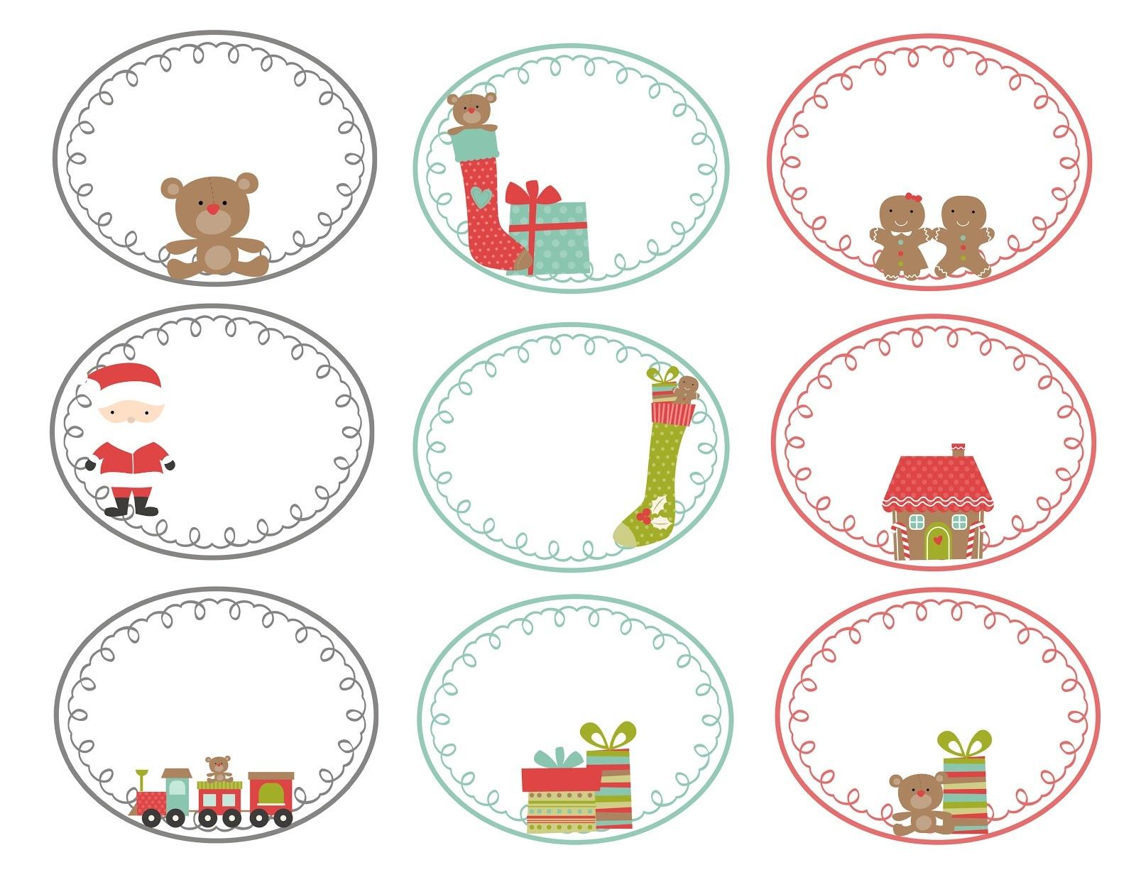 Homemade Christmas Gift Tags Templates - Demir.iso-Consulting.co - Free Printable Christmas Tags Templates