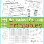 Homeschool Planning Resources & Free Printable Planning Pages   Free Printable Attendance Sheets For Homeschool