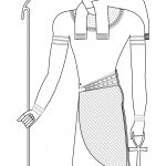 Horus, Ancient Egyptian God Coloring Page | Free Printable Coloring   Free Printable Sarcophagus