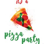 Hostess Helpers: Free Pizza Party Printables | Birthday Parties   Free Printable Italian Party Invitations