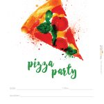 Hostess Helpers: Free Pizza Party Printables | Tea Party Birthday   Free Printable Italian Party Invitations