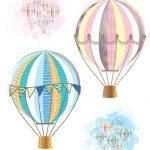 Hot Air Balloon Party Free Printables | Baby | Baby Shower Balloons   Free Printable Pictures Of Balloons