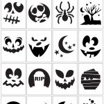 How To Carve The Coolest Pumpkin On The Block (Carving Stencils   Pumpkin Cutouts Printable Free