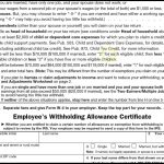 How To Correctly Fill Out Your W4 Form   Youtube   Form W 4 2013 Free Printable