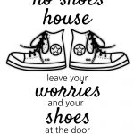 How To Get People To Take Their Shoes Off At The Door   Sunshine And   Free Printable Remove Your Shoes Sign