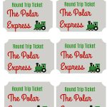How To Host A Polar Express Party For Kids: Fun, Festive Ideas   Polar Express Free Printables
