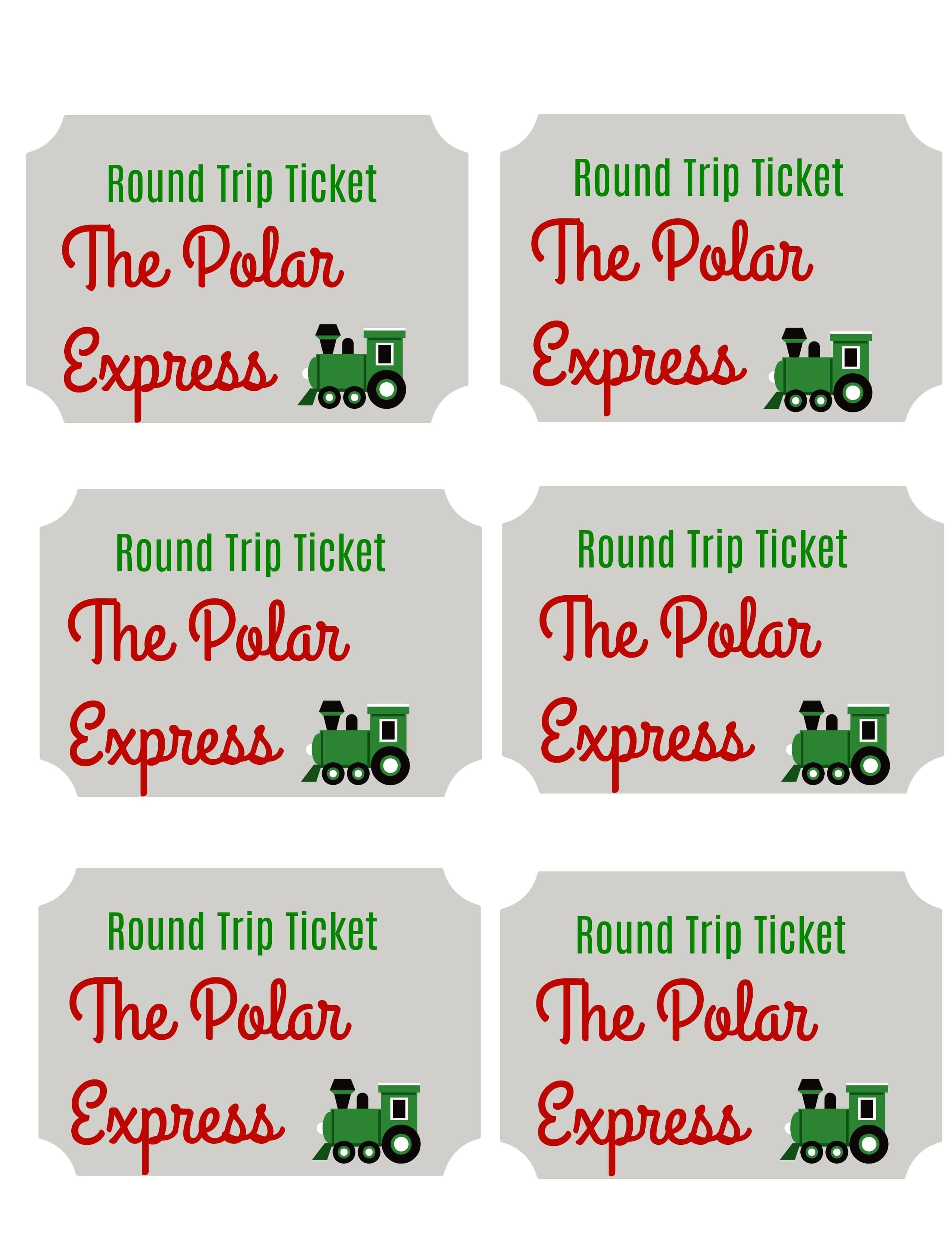 How To Host A Polar Express Party For Kids: Fun, Festive Ideas - Polar Express Free Printables