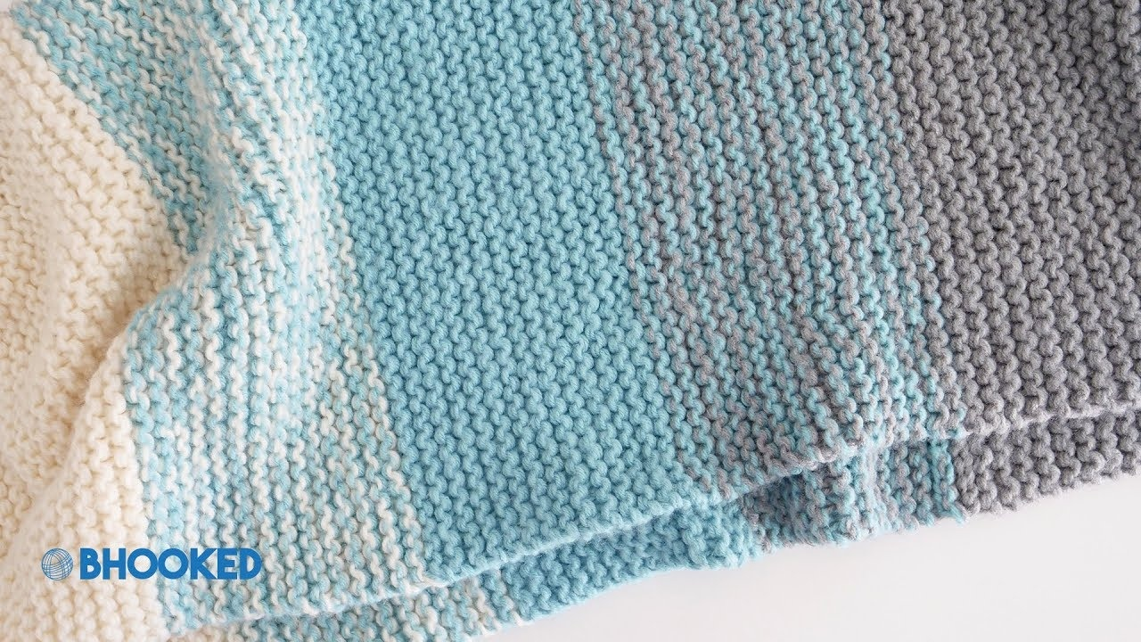 How To Knit A Baby Blanket For Complete Beginners - Easy Knit Baby - Free Printable Knitting Patterns For Baby Blankets