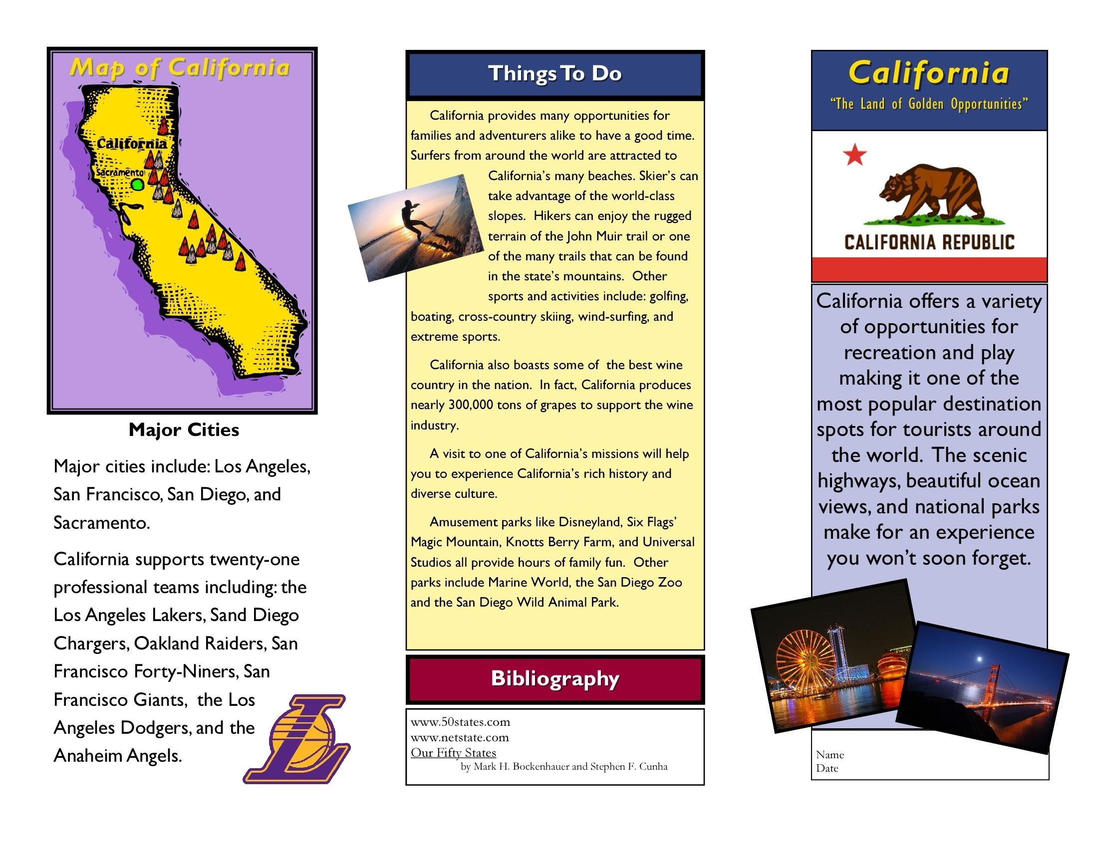 How To Make A Travel Guide Brochure - Tutlin.psstech.co - Free Printable Travel Brochures