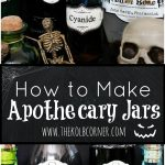 How To Make Apothecary Jars And Free Printable Labels | Domestically   Free Printable Apothecary Jar Labels