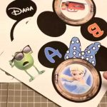 How To Make Disney Cruise Magnets: Magnet Paper Vs. Lamination   Youtube   Free Printable Disney Cruise Door Magnets