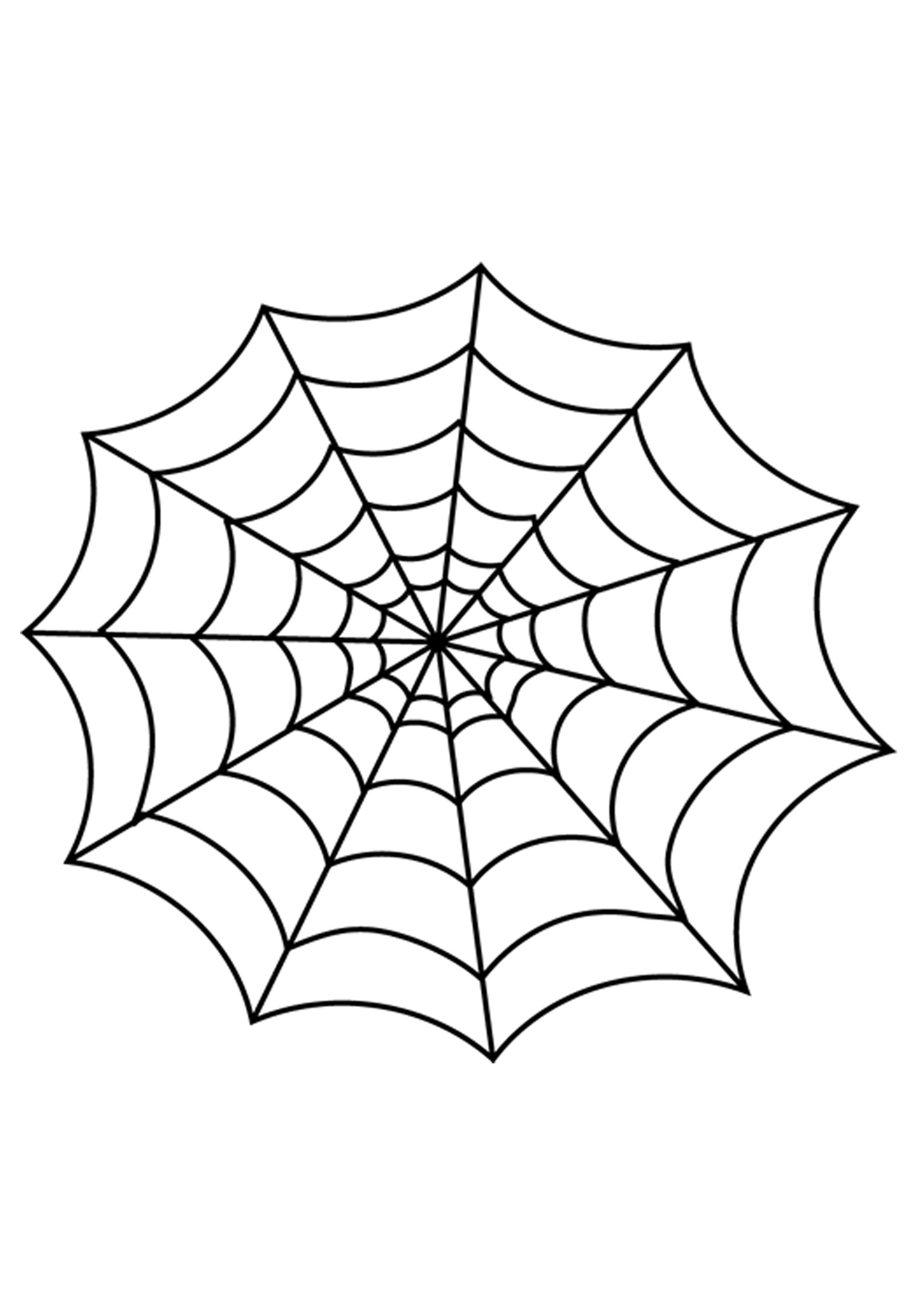 How To Make Glitter Glue Spider Web Halloween Decorations - Spider Web Stencil Free Printable